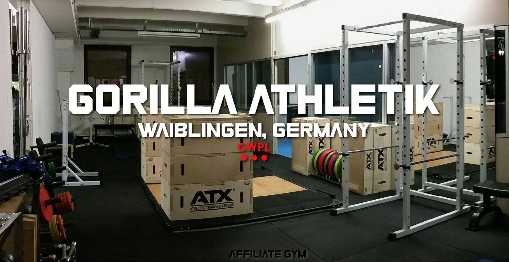 Gorilla Athletik Powerlifting Olympisches Gewichtheben in Waiblingen